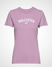 Hollister Tech Core Tee T-shirts & Tops Short-sleeved Lilla HOLLISTER