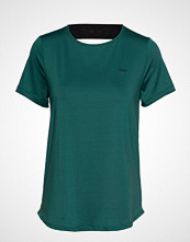 Röhnisch Deep Back Tee T-shirts & Tops Short-sleeved Grønn RÖHNISCH