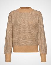 Yas Yaslulex Ls Knit Pullover Strikket Genser Beige YAS