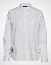 Armani Exchange Ax Woman Shirt Langermet Skjorte Hvit Armani Exchange