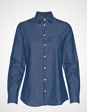 Lexington Clothing Emily Denim Shirt Langermet Skjorte Blå LEXINGTON CLOTHING