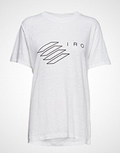 Iro Lucie T-shirts & Tops Short-sleeved Hvit IRO