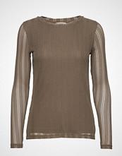 Cream Zoecr Long Sleeve T-Shirt T-shirts & Tops Long-sleeved Grønn CREAM