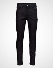 Cheap Monday Sonic Unwashed Slim Jeans Svart CHEAP MONDAY