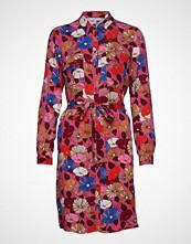 Esprit Casual Dresses Light Woven Knelang Kjole Rød ESPRIT CASUAL