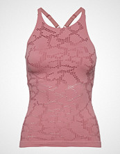 Casall Seamless Structure Strap Tank T-shirts & Tops Sleeveless Rosa CASALL
