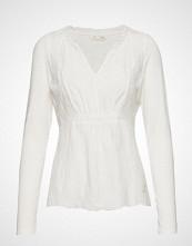 Odd Molly Leaving Happier Top T-shirts & Tops Long-sleeved Hvit ODD MOLLY