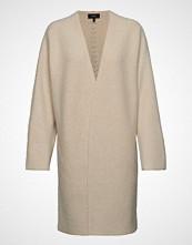 Theory Whipstich Coat.Felte Strikkegenser Cardigan Beige THEORY