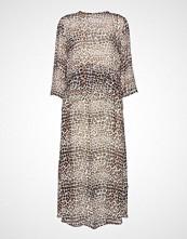 InWear Kathyiw Dress Knelang Kjole Beige INWEAR