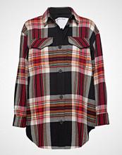 DESIGNERS, REMIX Claudia Shirt Coat Langermet Skjorte Multi/mønstret DESIGNERS, REMIX