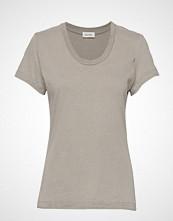 American Vintage Fuzycity T-shirts & Tops Short-sleeved Grå AMERICAN VINTAGE