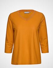 Fransa Fremjacq 1 T-Shirt Strikket Genser Gul FRANSA