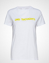 2nd Day 2nd Thoughts T-shirts & Tops Short-sleeved Hvit 2NDDAY