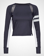 Superdry Super Speed Sport Crop Top T-shirts & Tops Long-sleeved Blå SUPERDRY