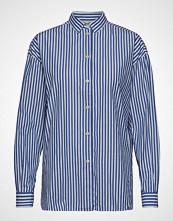 Lexington Clothing Edith Poplin Shirt Langermet Skjorte Blå LEXINGTON CLOTHING