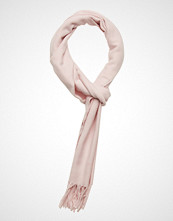 Gant Solid Wool Scarf Skjerf Rosa GANT