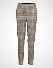 Saint Tropez U5025, Woven Pants Bukser Med Rette Ben Multi/mønstret SAINT TROPEZ