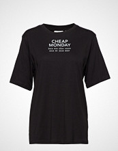 Cheap Monday Perfect Tee Chp Mnd Sender T-shirts & Tops Short-sleeved Svart CHEAP MONDAY