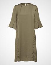 Whyred Lilian Dress Knelang Kjole Grønn WHYRED