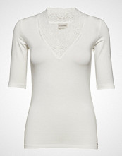 By Malene Birger Tsh5059s91 T-shirts & Tops Short-sleeved Hvit BY MALENE BIRGER