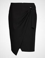 Gerry Weber Edition Skirt Short Woven Fa Knelangt Skjørt Svart GERRY WEBER EDITION