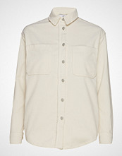 Envii Enabisko Ls Shirt 6641 Langermet Skjorte Creme ENVII