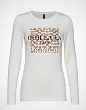 Soyaconcept Sc-Naima T-shirts & Tops Long-sleeved Hvit SOYACONCEPT