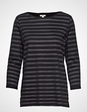Esprit Casual T-Shirts T-shirts & Tops Long-sleeved Svart ESPRIT CASUAL