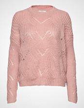 Only Onlhavana L/S Pullover Knt Noos Strikket Genser Rosa ONLY
