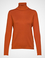Soft Rebels Zara Rollneck Høyhalset Pologenser Oransje SOFT REBELS