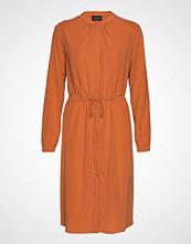 Sand Cdc Stretch - Zihia Dress Knelang Kjole Oransje SAND
