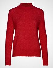 Soaked in Luxury Sl Angel Crew-Neck Pullover Ls Strikket Genser Rød SOAKED IN LUXURY