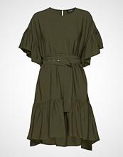 Soaked in Luxury Sl Iggy Dress Kort Kjole Grønn SOAKED IN LUXURY