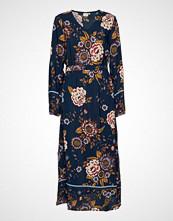 Cream Ranja Dress Knelang Kjole Blå CREAM