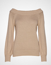 Gina Tricot Angin Knitted Sweater Strikket Genser Beige GINA TRICOT