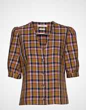 Gestuz Aciegz Shirt Ma19 Bluse Kortermet Multi/mønstret GESTUZ