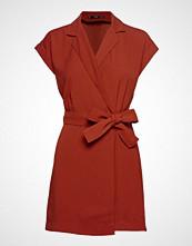 Mango Bow Lapels Dress Kort Kjole Rød MANGO