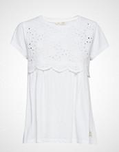 Odd Molly Bonnie Tee T-shirts & Tops Short-sleeved Hvit ODD MOLLY
