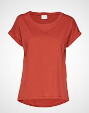 Vila Vidreamers Pure T-Shirt-Noos T-shirts & Tops Short-sleeved Rød VILA