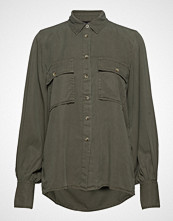 Gina Tricot Carol Utility Shirt Langermet Skjorte Grønn GINA TRICOT