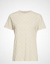 Baum Und Pferdgarten Jolee T-shirts & Tops Short-sleeved Creme BAUM UND PFERDGARTEN
