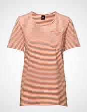 Nanso Ladies T-Shirt, Liitu T-shirts & Tops Short-sleeved Oransje NANSO