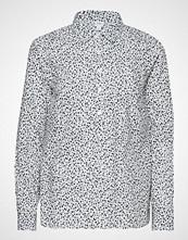 GAP V-Bf Popover Shrt - Prt Langermet Skjorte Multi/mønstret GAP