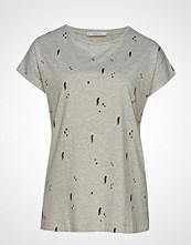 Violeta by Mango Printed Stars T-Shirt T-shirts & Tops Short-sleeved Grå VIOLETA BY MANGO