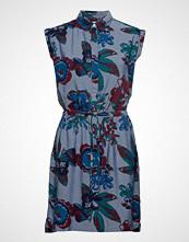 Lee Jeans Floral Dress Kort Kjole Blå LEE JEANS