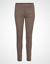 Mos Mosh Abbey Brandy Pant Bukser Med Rette Ben Brun MOS MOSH