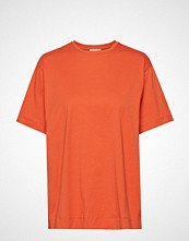 By Malene Birger Tsh5009s91 T-shirts & Tops Short-sleeved Oransje BY MALENE BIRGER