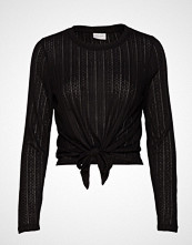 Vila Viflori L/S T-Shirt/Tb T-shirts & Tops Long-sleeved Svart VILA