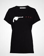 Gestuz Guragz Tee Ao19 T-shirts & Tops Short-sleeved Svart GESTUZ