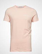 Calvin Klein Chest Institutional, T-shirts Short-sleeved Rosa CALVIN KLEIN JEANS